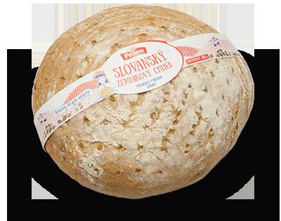 Slovanský zemiakový chlieb